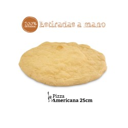 Base de pizza peque Americana